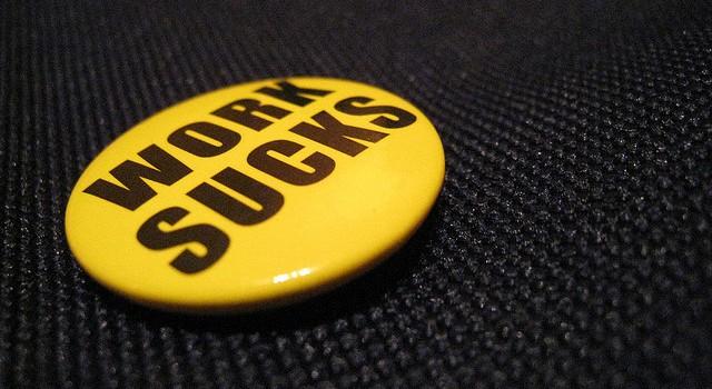 work sucks pin
