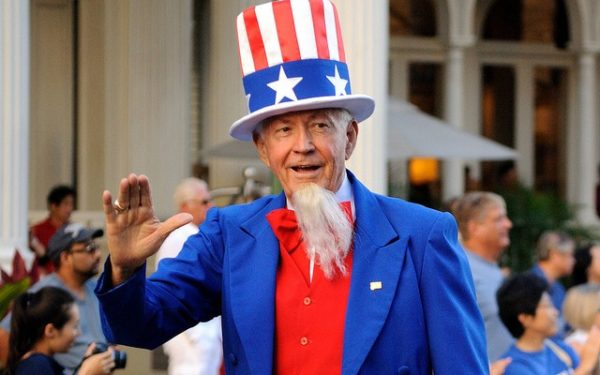 uncle sam in a parade