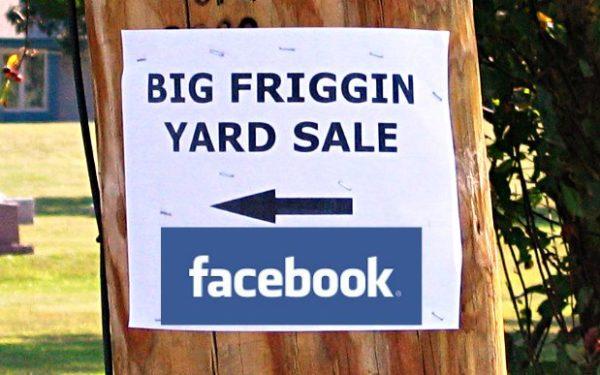 facebook yard sale groups