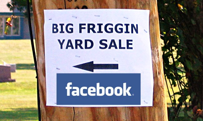 facebook yard sale groups