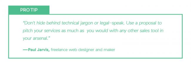 Freelance portfolio tip