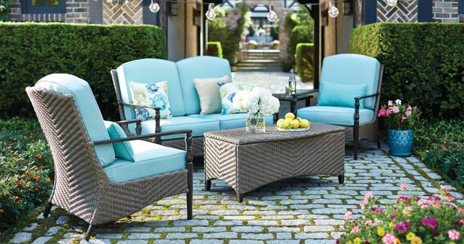 outdoor patio furniture - spring spending traps