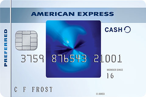 Blue Cash Preferred® Card from American Express Logo