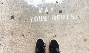 pay your debts graffiti