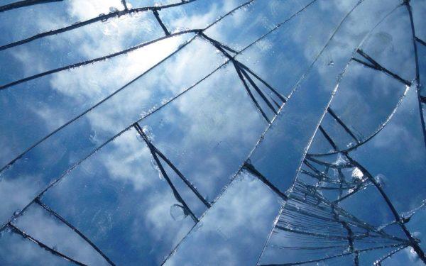 rebuilding credit after bankruptcy - broken mirror