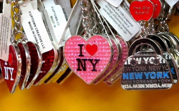 i love new york keychain souvenirs