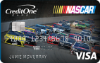 NASCAR® Credit Card from Credit One Bank® Logo