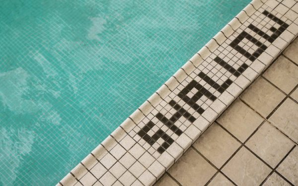 shallow end of pool