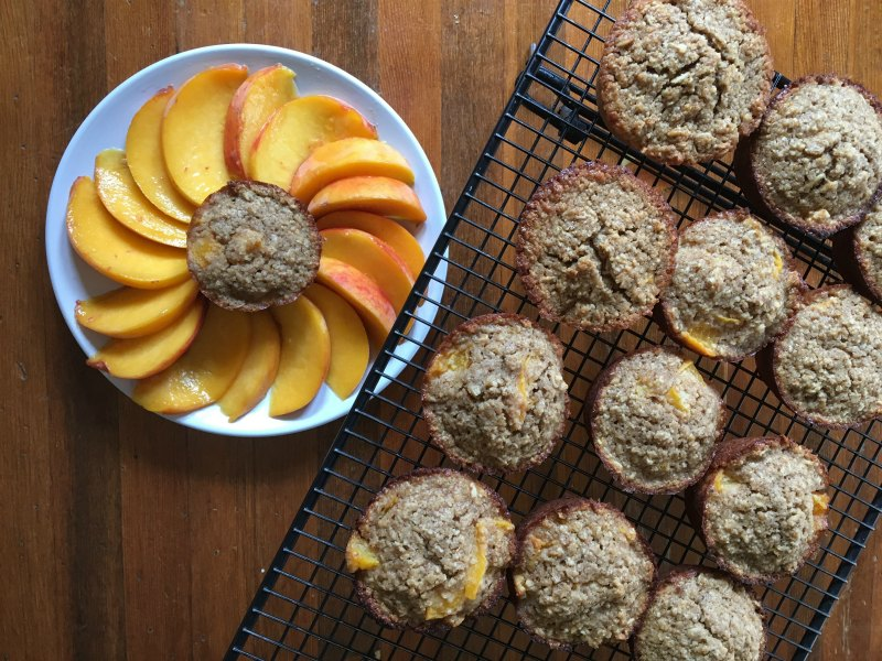 gluten free muffin recipe perfectly peach muffins
