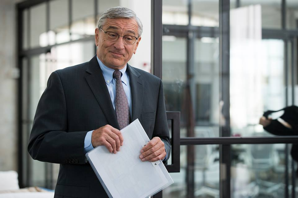 robert de niro in the intern - how to get the job when you're overqualified