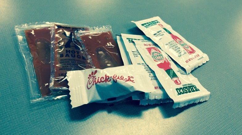 sauce packets