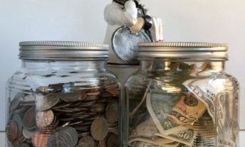 savings jars - 529 vs. roth ira for college savings