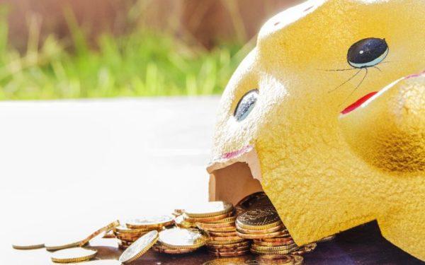 broken piggy bank - cd loan