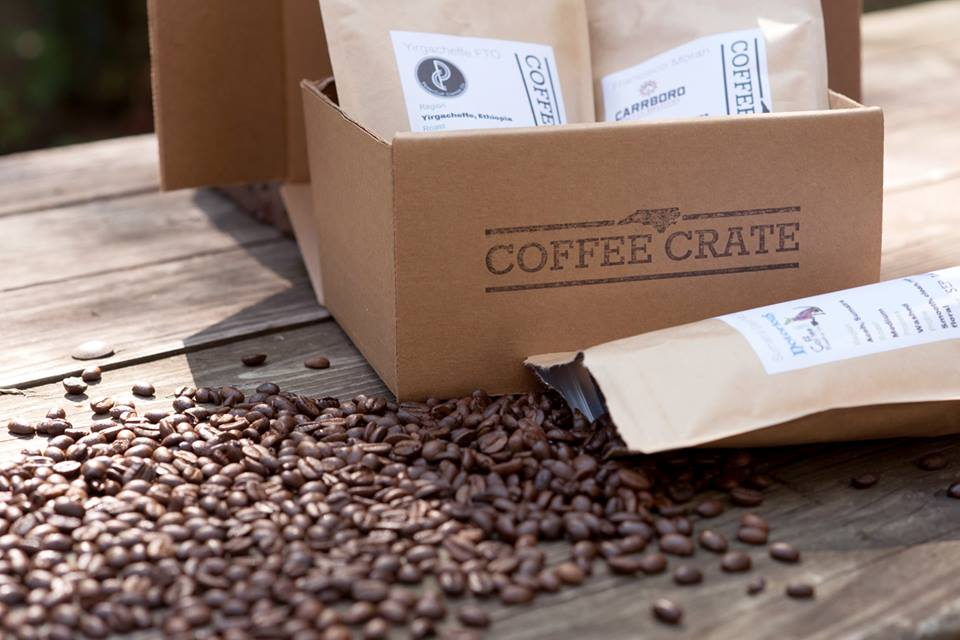 coffee crate