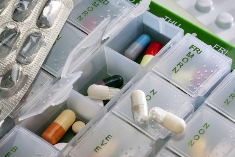 pill box - online pharmacy
