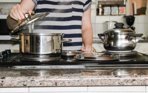 cooking on stove top homemade bone broth recipe