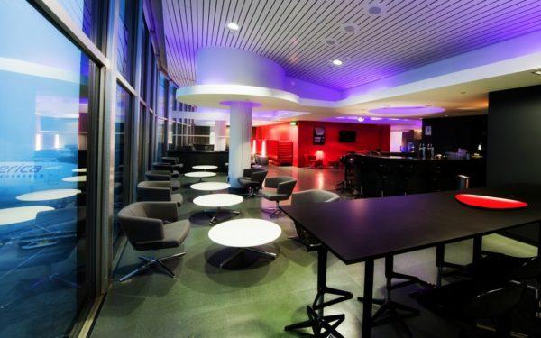 virgin LAX airport lounge