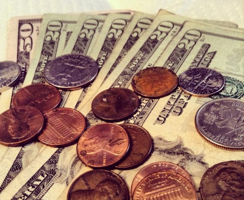 pennies dollars coins cash - starting a small business