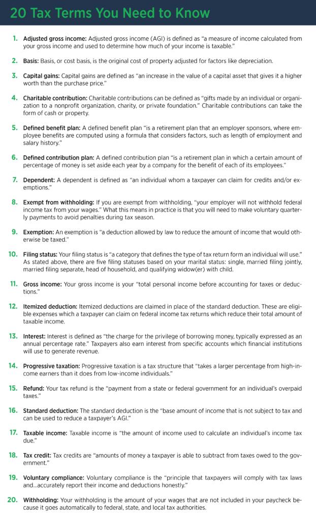 20-tax-terms