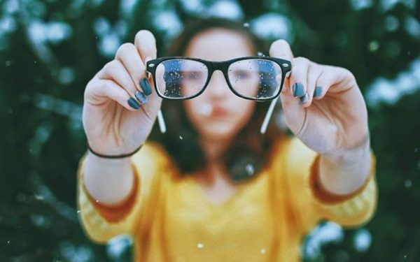 focusing glasses