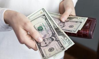 splitting up cash from wallet - dollar cost averaging