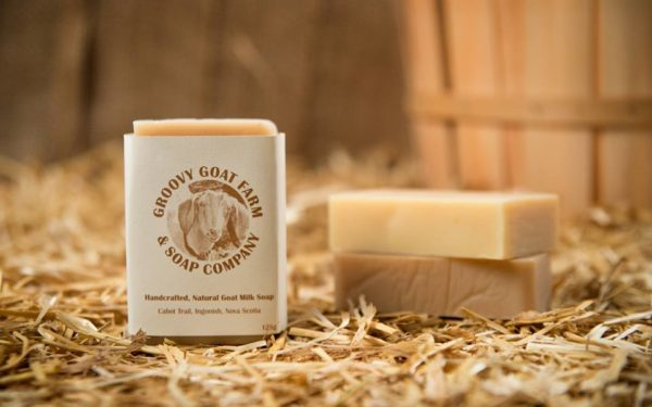 handmade goat milk soap from groovy goat farm and soap company - frugal practical gift ideas