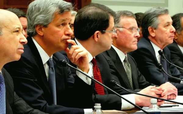 jamie dimon wall street executives testify before congress inside job