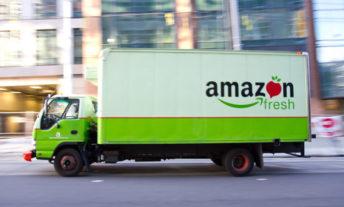 amazon fresh delivery truck - costco vs amazon fresh