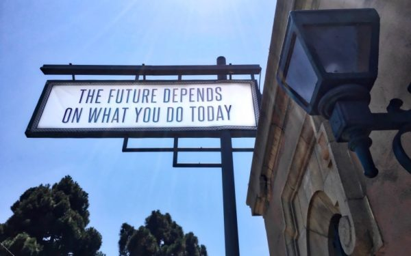 sign about the future