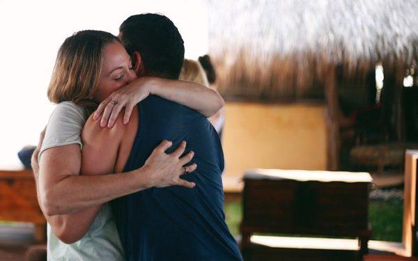 an emotional hug