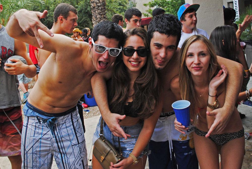 College Party Spring Break