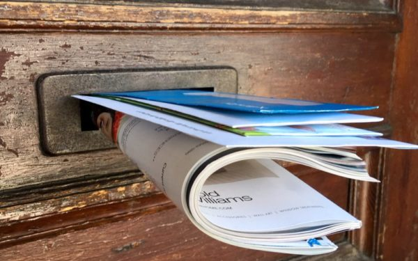 junk mail in letter slot - why do i get so many credit card offers in the mail
