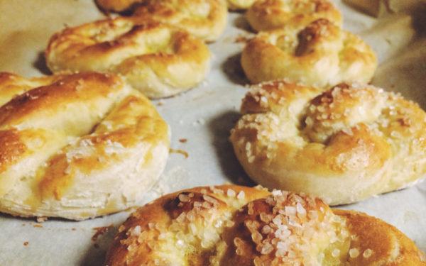 soft sourdough pretzels - ways to use sourdough discard
