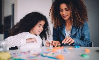 mother and daughter - protect your child from identity theft