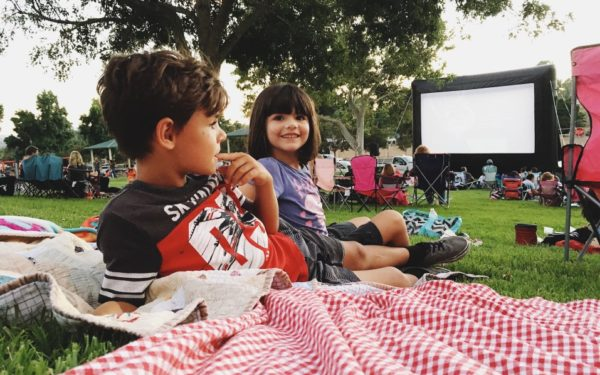 family movie night at the park in san diego