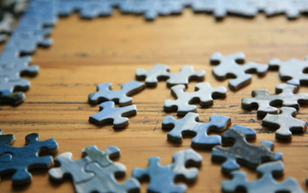 puzzle pieces on a table - should you count on social security in retirement