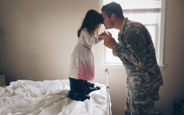 military dad and daughter at home - should i get a va loan?