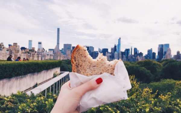 homemade sandwich lunch - how a bag lunch saves you money
