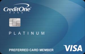 Credit One Bank® Platinum Visa® for Rebuilding Credit