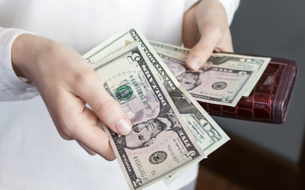 money in hand - the $5 challenge