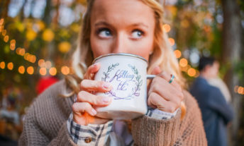 woman drinking from a mug that says killing it - what is the perfect credit score and how to earn a perfect credit score