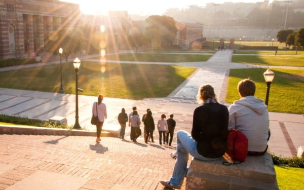 students at ucla campus - income share agreements college isas