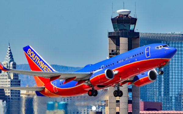 southwest airlines companion pass promo deal - southwest airlines plane taking off at airport