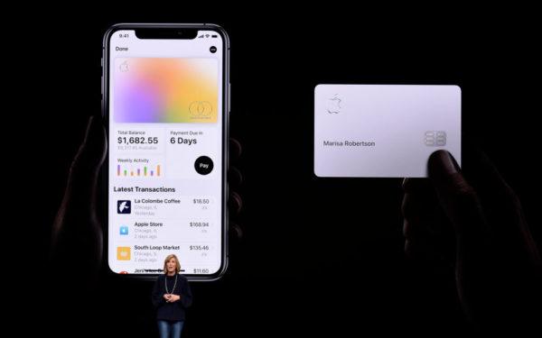 apple credit card launch