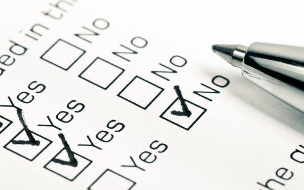 check boxes - financial fundamentals checklist