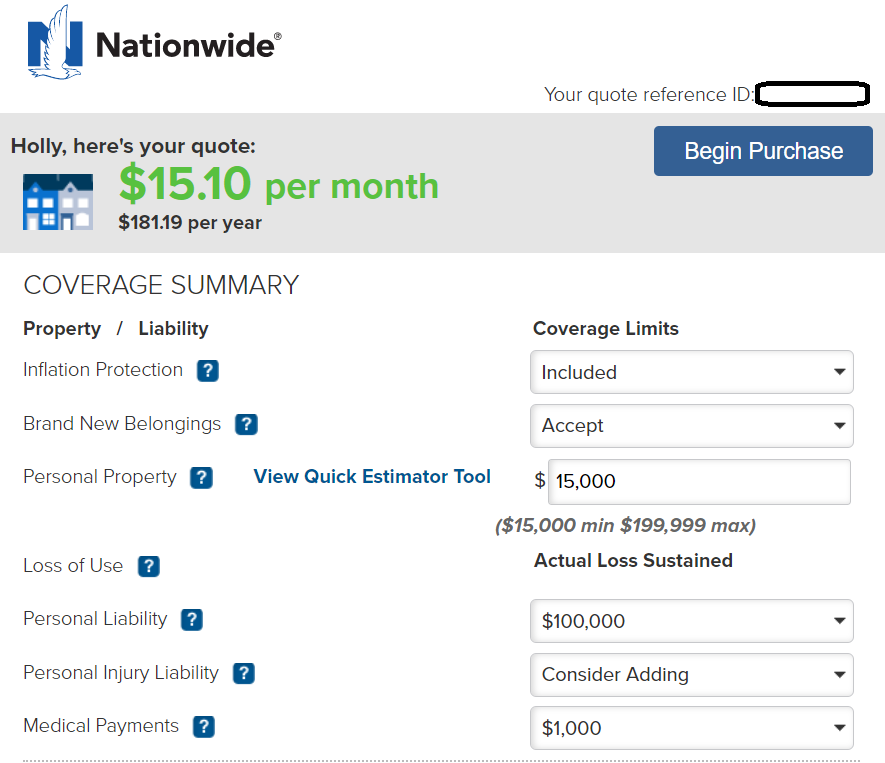 Nationwide Renters Insurance Review The Simple Dollar
