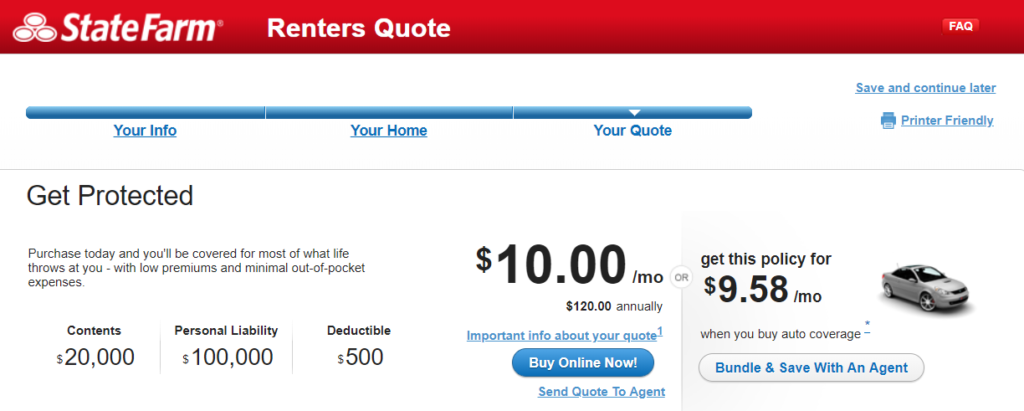 State Farm Insurance >> State Farm Renters Insurance Review The Simple Dollar