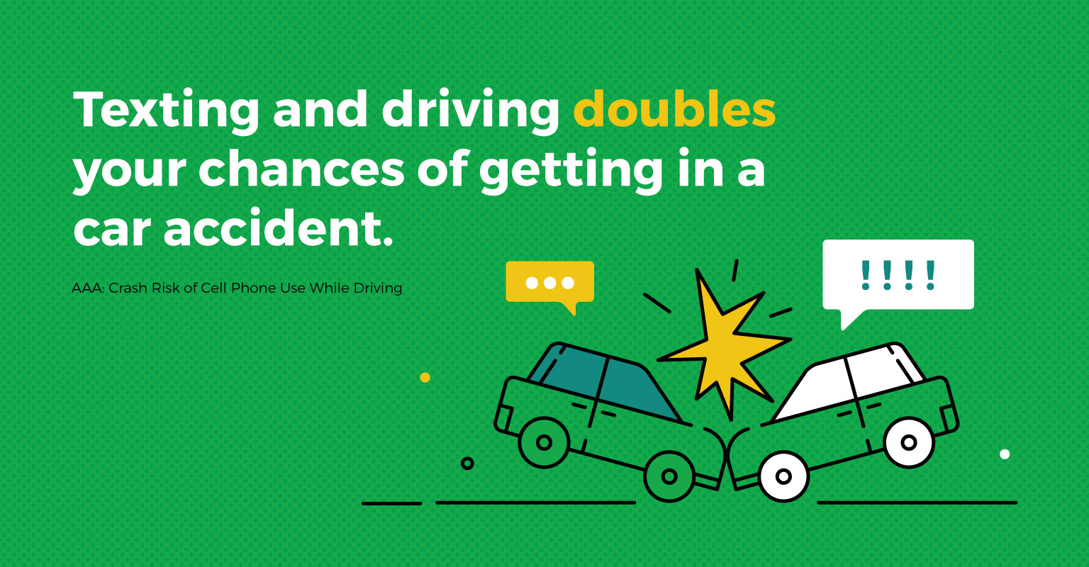 Dangers Of Texting And Driving >> 60 Texting And Driving Statistics 2019 The Simple Dollar