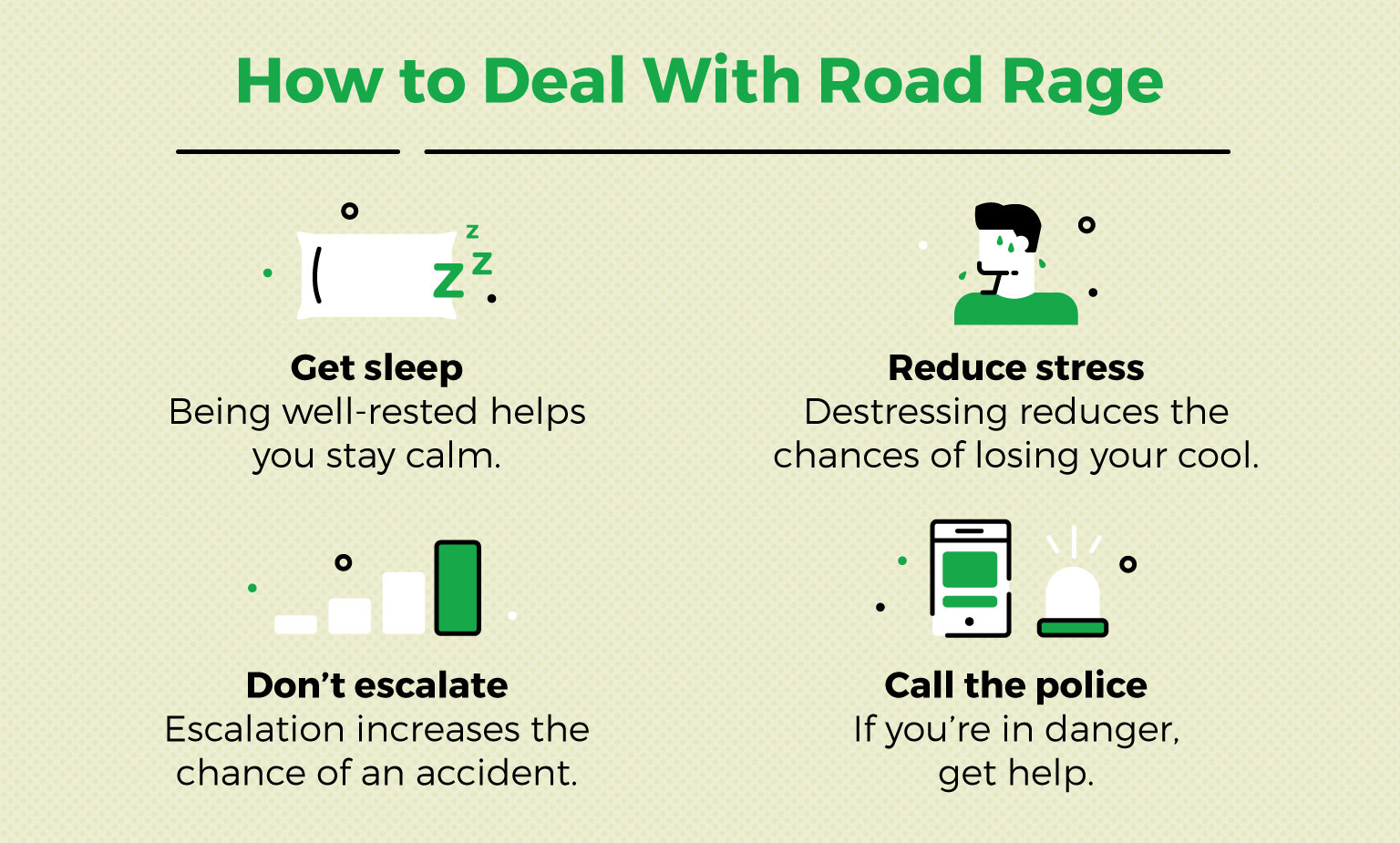 4 tips to deal with road rage internally