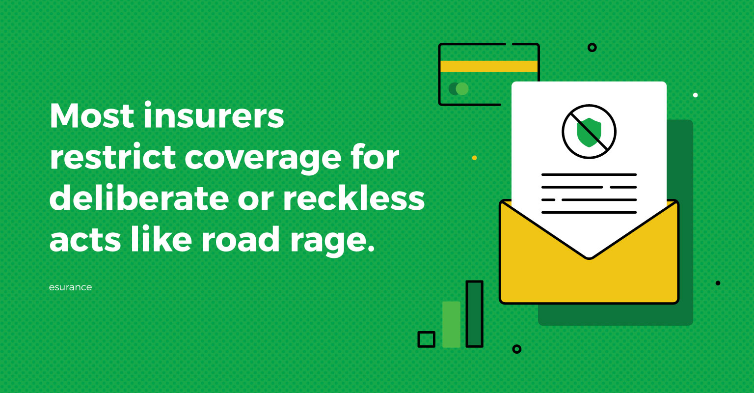 road rage leads insurance companies to restrict coverage for deliberate or reckless acts